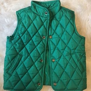 Janie and Jack Quilted Vest